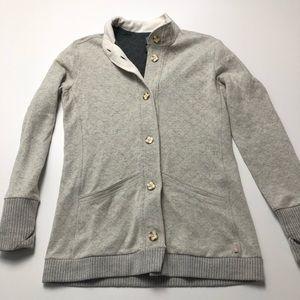 Mountain Hardwear Gray Wool Cardigan Medium